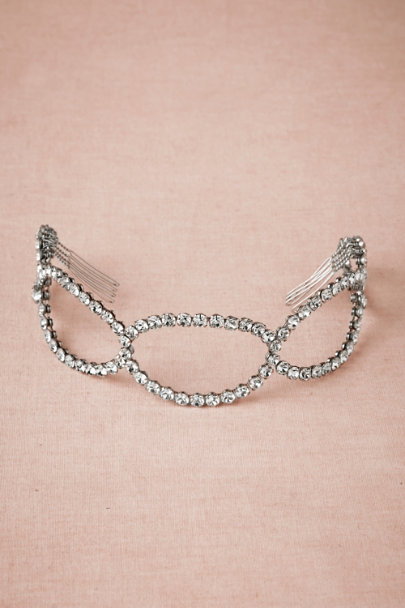 Debra Moreland silver Elliptic Headpiece | BHLDN