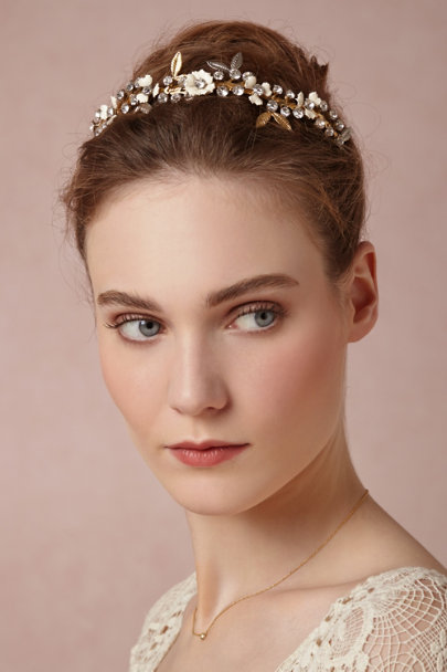 Debra Moreland gold Gilded Dawn Headband | BHLDN