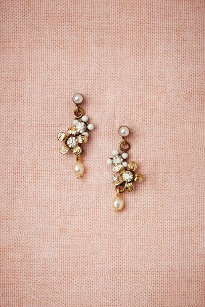 Eric et Lydie pearl Droplet Earrings | BHLDN