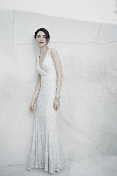 Rachel Gilbert ivory Candence Gown | BHLDN