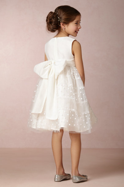 Nellystella ivory Luca Dress | BHLDN