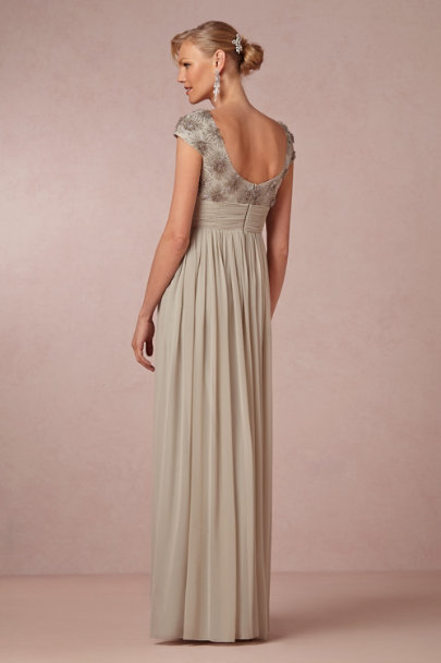 silver Brilliant Luster Dress | BHLDN