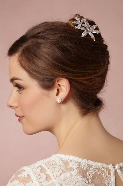 Jennifer Behr silver Dancing Lady Hairpin | BHLDN