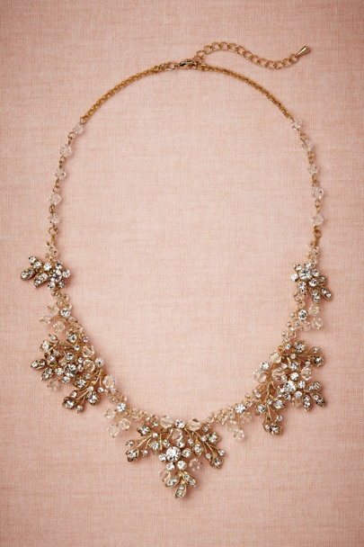 gold Golden Garden Necklace | BHLDN