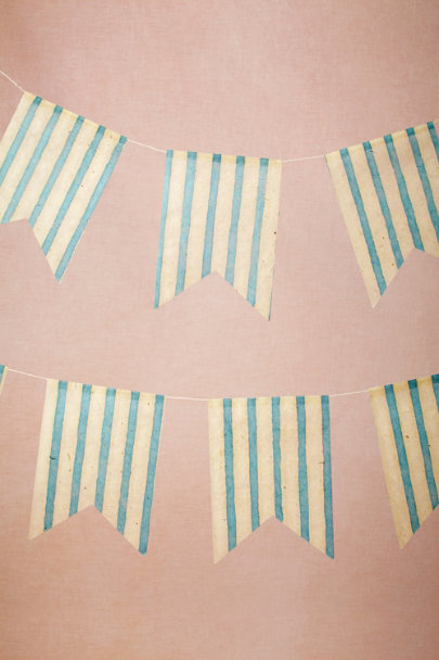 blue By Sea Pennants (3) | BHLDN