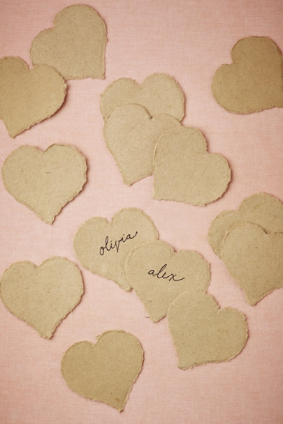 Hearted Place Cards (50)