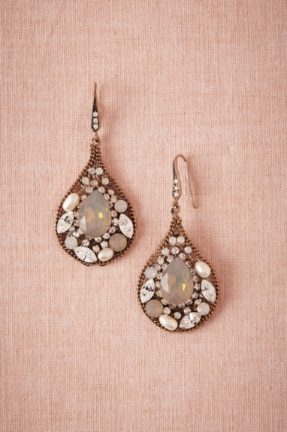 Gold Mosaique Earrings | BHLDN