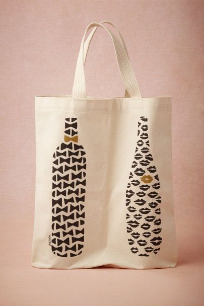 His & Hers Wine Tote
