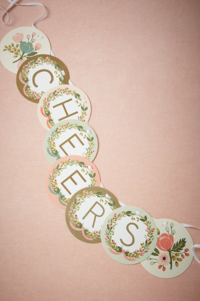 Rifle Paper Co. Multi Monogram Garland | BHLDN