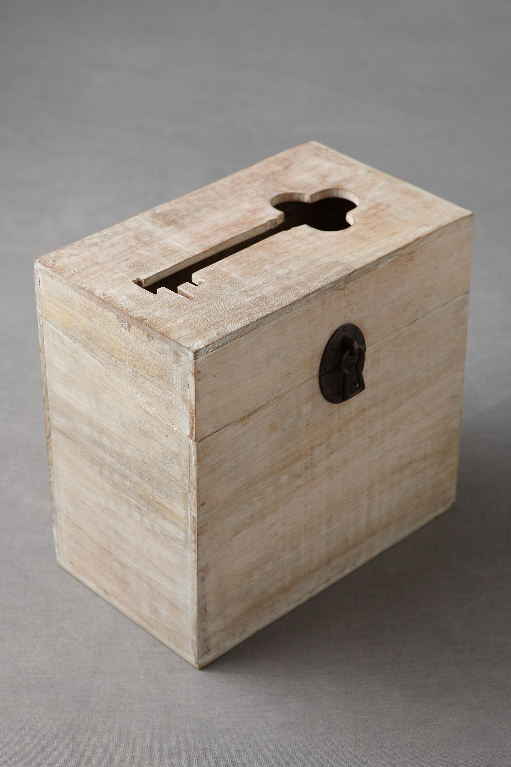 Passkey Card Box in Sale – Wooden Card Box Wedding