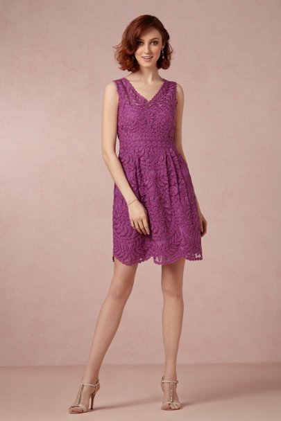Yoana Baraschi fuchsia Sienna Dress | BHLDN