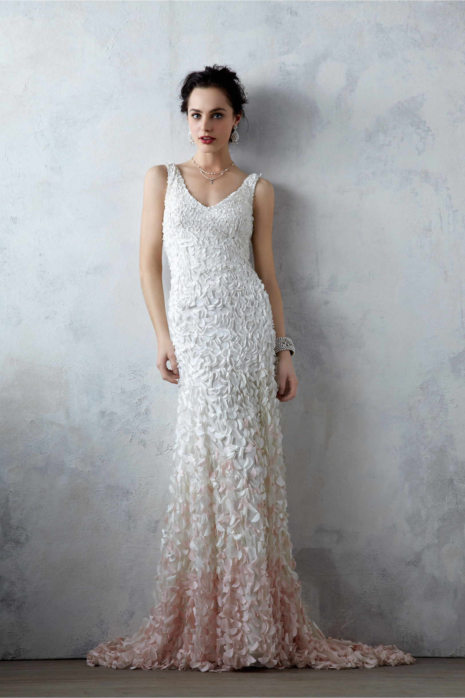 Turmec » pink ombre wedding dresses
