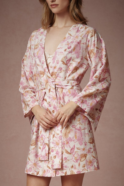 Calliope Painted Petal Robe | BHLDN