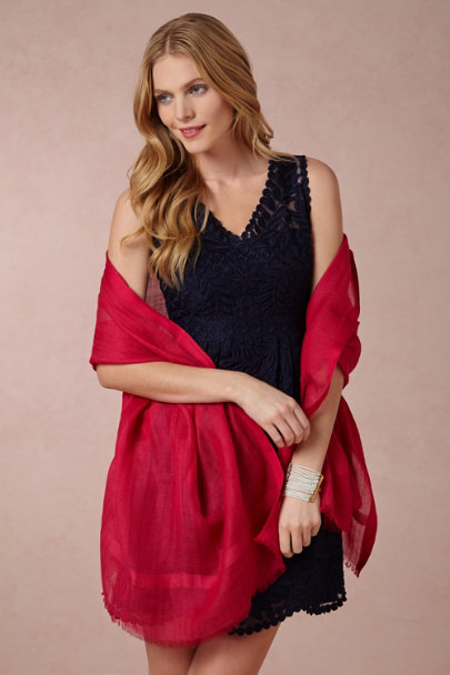 Grenadine Carlotta Wrap | BHLDN