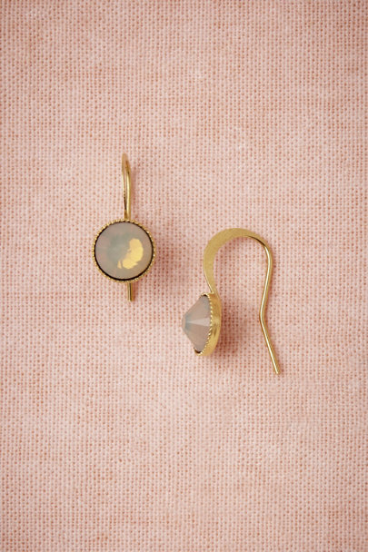 White Opal Serenity Earrings | BHLDN