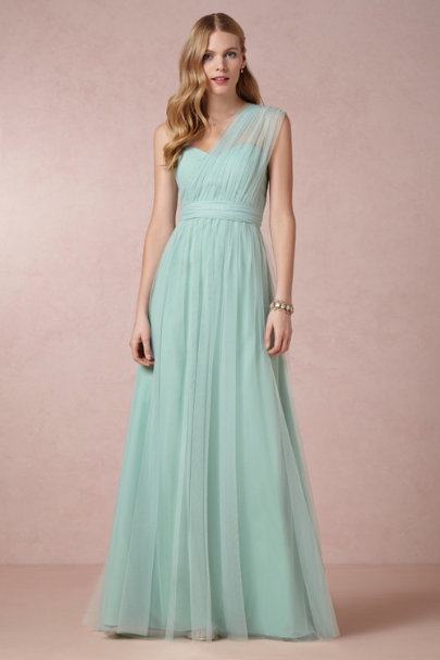 Jenny Yoo mint mist Annabelle Dress | BHLDN