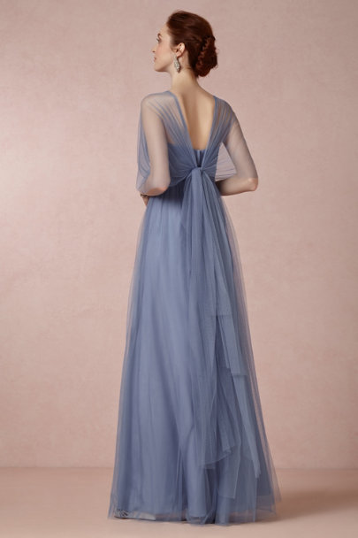 steel blue Annabelle Dress | BHLDN