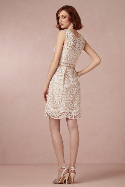 Yoana Baraschi ivory Sienna Dress | BHLDN