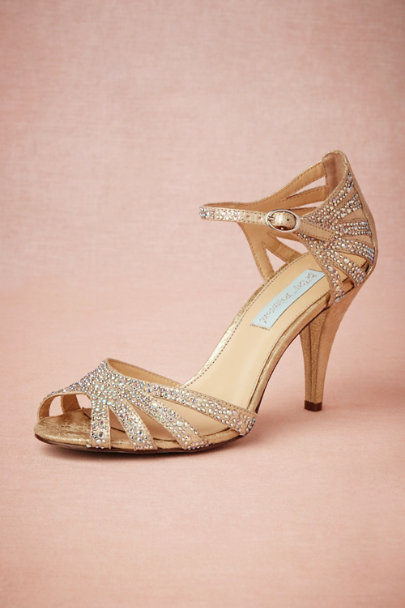 Champagne Sparkle Heels In Sale Bhldn