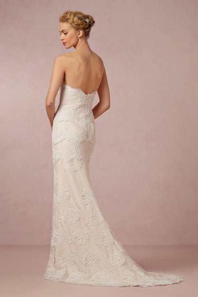 cream Honora Gown | BHLDN