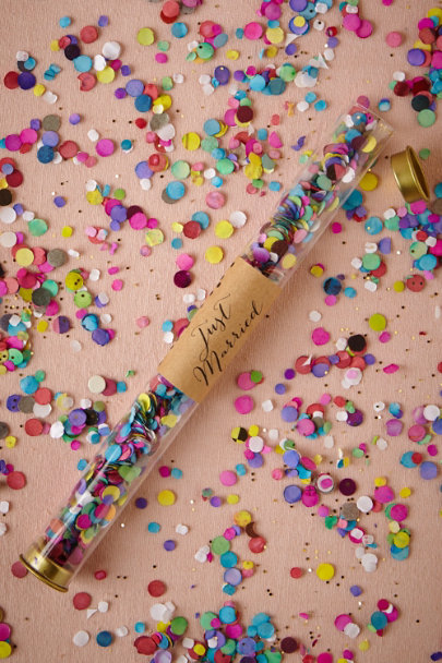 multi Three Cheers Confetti Wand | BHLDN