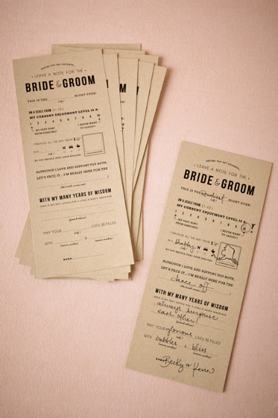 Kraft Adlibs Notes (10) | BHLDN
