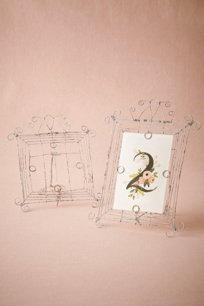 antique white Antique Wire Frames | BHLDN