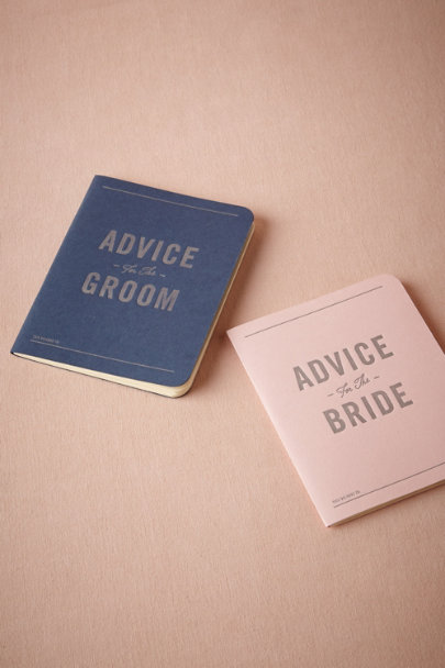 navy & pink Sound Advice Journals (2) | BHLDN