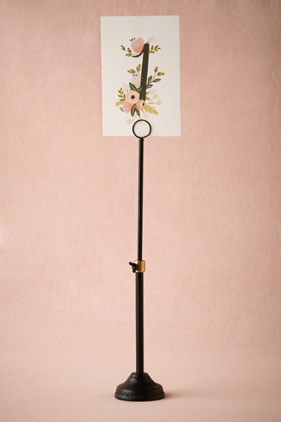 black & gold Telescope Holder | BHLDN