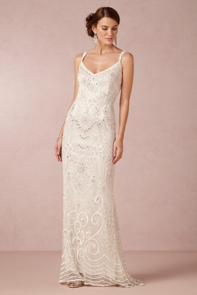 snow Elsa Gown | BHLDN