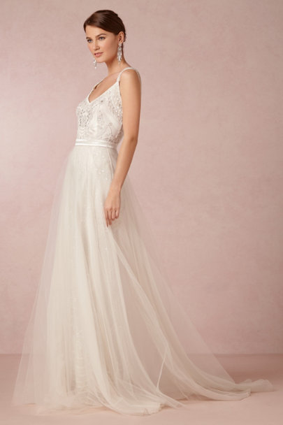 snow Elsa Tulle Skirt | BHLDN