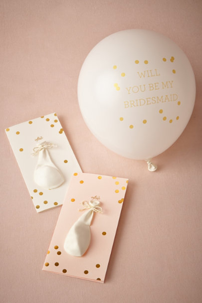 Sugar Paper Maid Of Honor Pop-the-Question Maid Cards | BHLDN