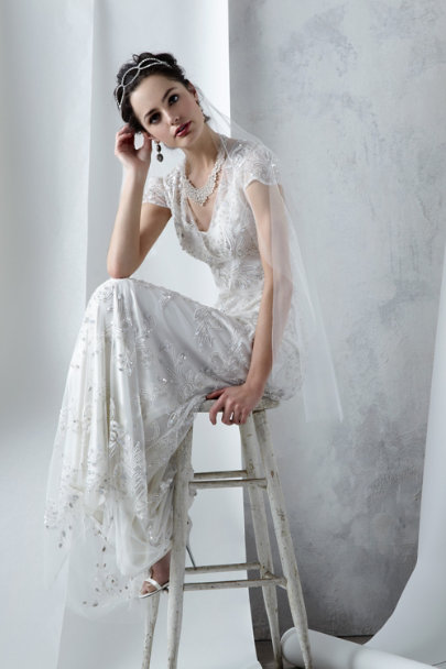 Ranna Gill snow Mira Gown | BHLDN