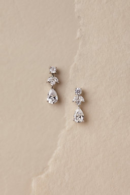Petite Crystal Drop Earrings