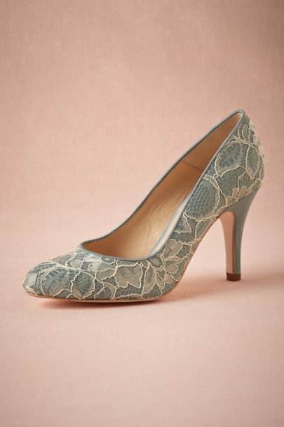 blue Sky Lace Pump | BHLDN