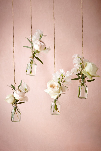 Clear Hanging Bud Vases (2) | BHLDN