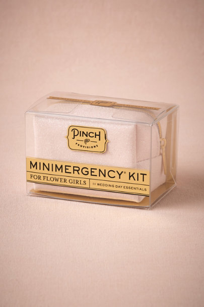 Pink Glitter Minimergency Flower Girl Kit | BHLDN