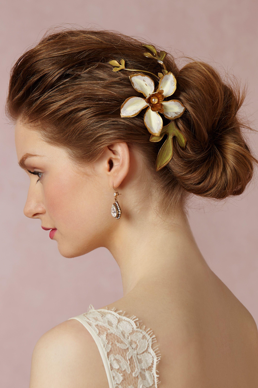 Golden Pearl Comb