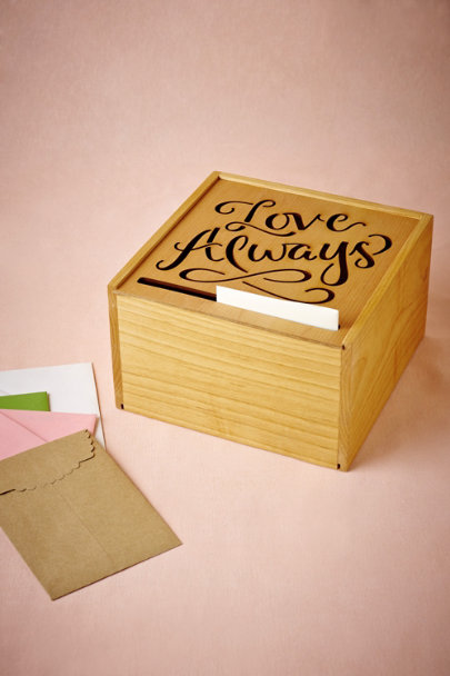 Natural Love Always Card Box | BHLDN