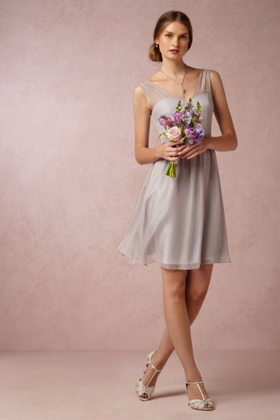 mist grey Ainsley Dress | BHLDN