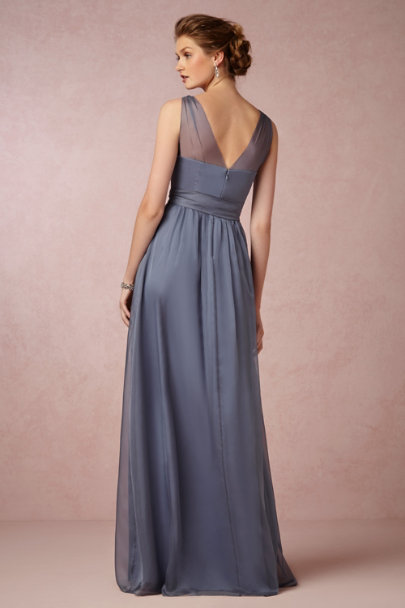 steel blue Josephine Dress | BHLDN