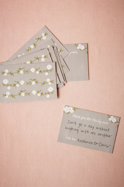 Grey Aster Advice Cards (10) | BHLDN