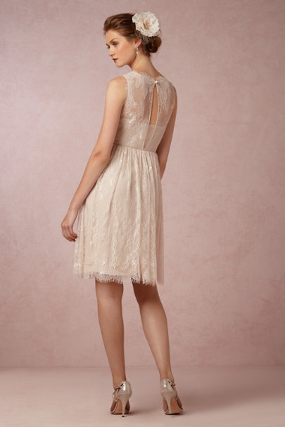 light sand Celia Dress  | BHLDN