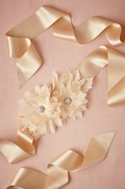 blush Valentina Sash | BHLDN