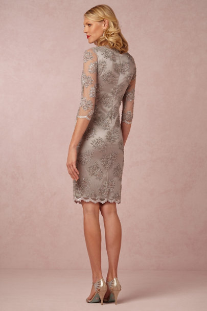 Mingnon Doo silver Crystaline Dress | BHLDN