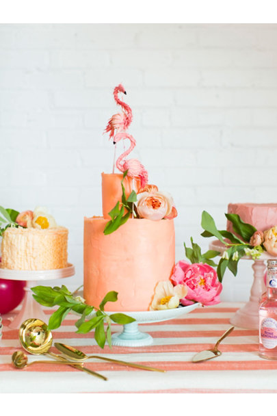Pink Sweetest Day Cake Stands | BHLDN