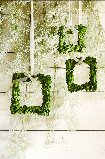 Moss Boxwood Wreath Frames (3) | BHLDN