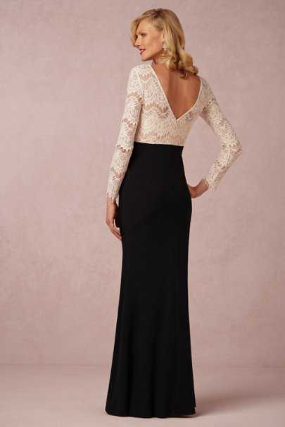 Black and White Irina Dress | BHLDN
