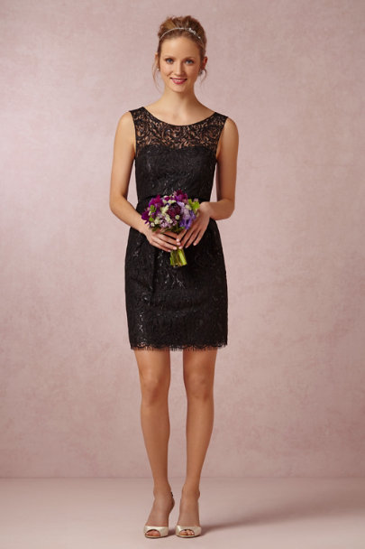 Jenny Yoo black Harlow Dress | BHLDN