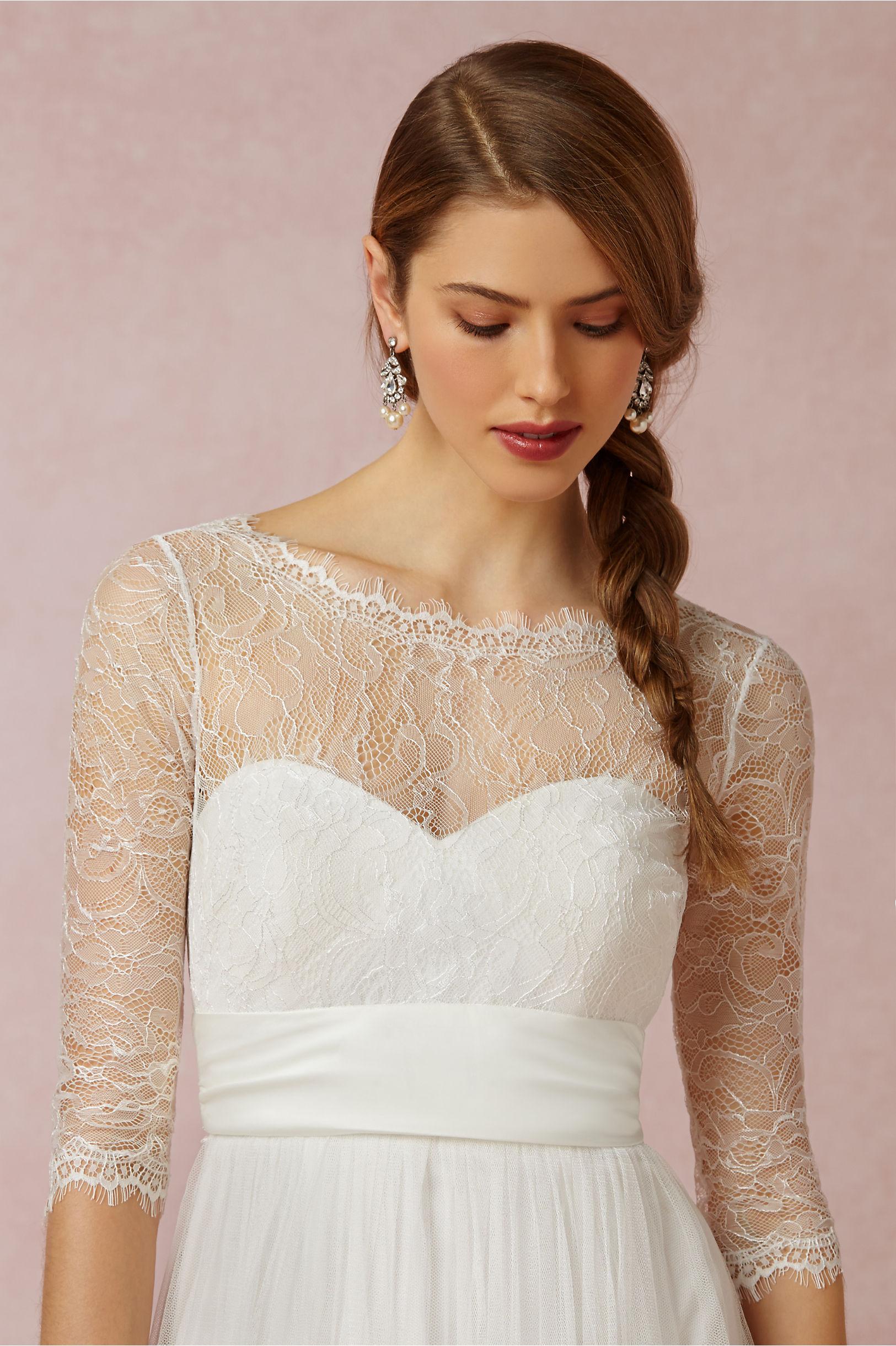 Turmec » strapless wedding dress cover